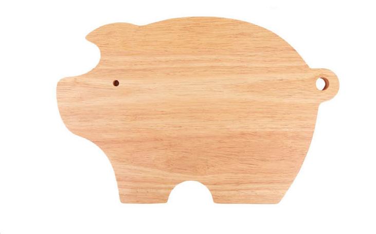 木菜板 家用小豬形