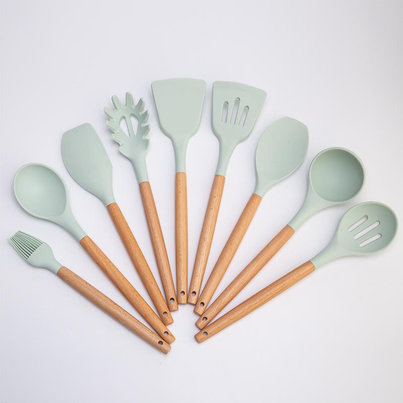 9件套硅膠廚具